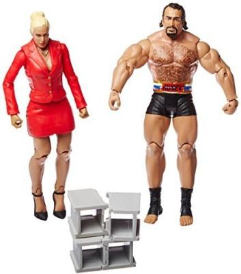Mattel WWE Battle Pack Series #34: Lana vs. Rusev Action Figure (2-Pack)