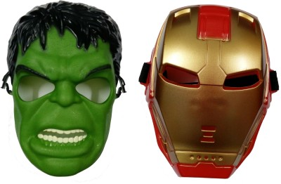 AS Hulk & Ironman Mask Combo