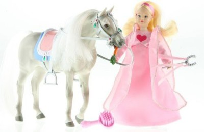 Paradise Horse S Pozables Princess Set