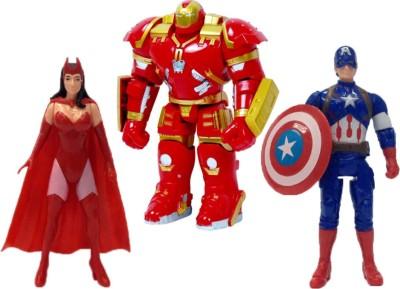 Emob Super Power 3 in 1 Action Hero Super Heros Series