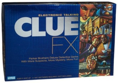 Parker Brothers Electronic Talking Clue FX
