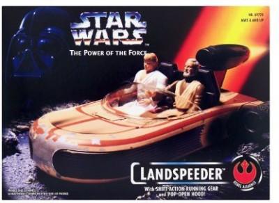 Kenner Star Wars Power Of The Force Landspeeder