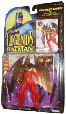 Kenner Year 1994 Legends Of Batman 5 Inch Tall Knightquest Batman