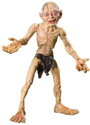 Toy Biz Super Poseable Smeagol With The One Ring