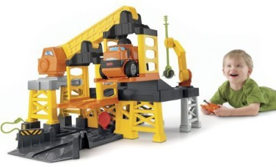 Fisher-Price Big Construction Site With Remote Control