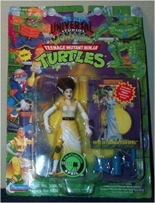 Teenage Mutant Ninja Turtles Bride Of Frankenstein April