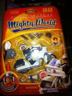 Mighty World Always On The Go Dean The Highway Patrol Officer Emergency