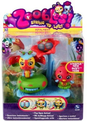 Spin Master Zoobles Twobles Butterfly And Bird + Happitat