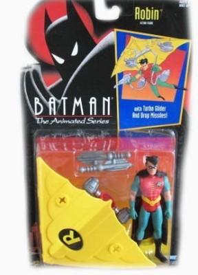 Batman The Animated Series Robin With Turbor Glider