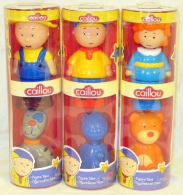 id-toys Caillourosiecaillou The Farmergilbertrexy And Teddy Set