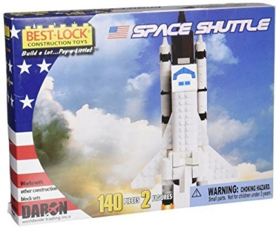 Daron Space Shuttle 140 Piece Best Lock Construction With