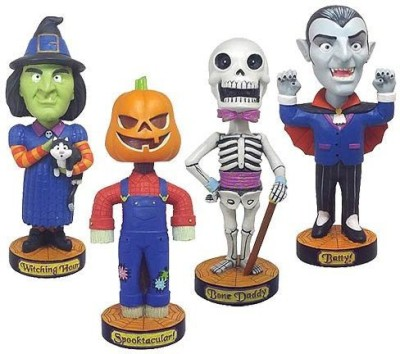 Classic Favorites halloween bobblehead super bundle collectiblemake animated