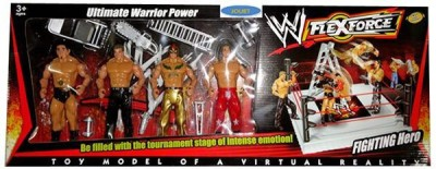 Zest4toyZ 4 figure wwe fighting Hero miniature toy for boys
