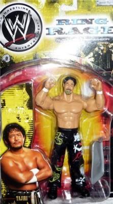 Jakks Pacific Tajiri Wwe Wrestling Ring Rage Ruthless Aggression Series