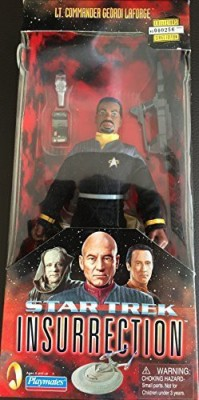 Playmates Star Trek Insurrection Lt Commander Geordi Laforgeclassic