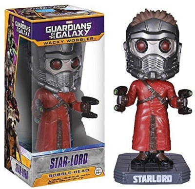 Guardians of the Galaxy Starlord Bobble Head X Wacky Wobblers Series