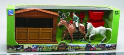 NewRay 3 Sets My Very Own Equestrian Horse Riding Academy Sets