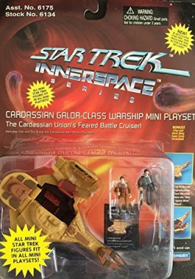 Playmates Star Trek Innerspace Cardassian Galorclass Warship Mini