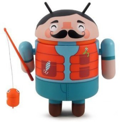 Dyzplastic Fisherman Android Series 4 Designer Vinyl Mini Kong Andri