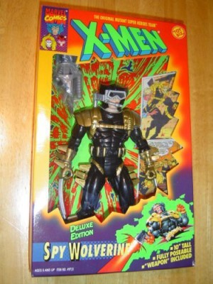 Toy Biz Marvel Comics Xmen Spy Wolverine 10