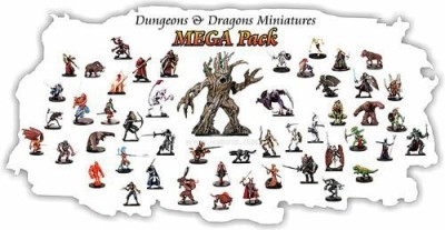 Dungeons and Dragons 25 Assorted D&D Miniatures