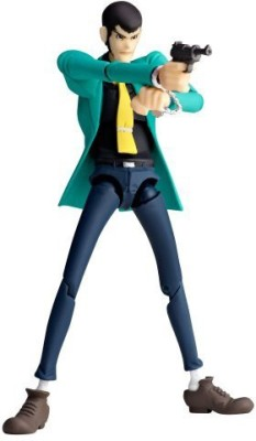 Kaiyodo Revoltech Yamaguchi No129 Lupin Iii First Series Anime Ver