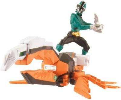 Power Rangers Power Ranger Zord Vehicle W/ Beetlezord With Green Ranger