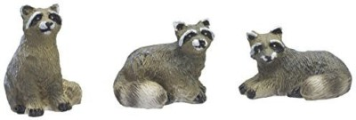 Fiddlehead Fairy Garden Mini Raccoons Set Of 3