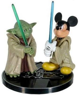Star Wars Jedi Mickey & Yoda Star Tours 2Pack