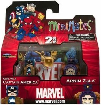 Other Manufacturer Marvel Minimates Series 42 Civil War Captain America & Arnim Zola