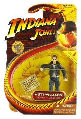 Indiana Jones Jones Mutt Williams Crystal Skull Action Figure with Jacket