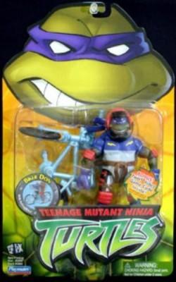 Playmates Teenage Mutant Ninja Turtles & Bike Donatello (Biker Don)