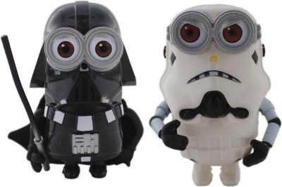 Tootpado Cartoon Space Wars Super Hero Action Figure Toys (1c325) - Pack of 2