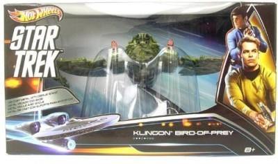Mattel Hot Wheels Collector Star Trek Klingon Bird Of Prey Vehicle