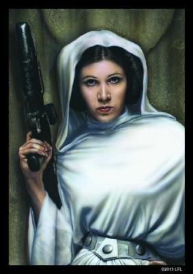 Fantasy Flight Games Star Wars Art Sleeves Princess Leia (Pack Of 50 Sleeves)