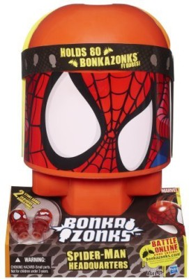 Bonkzaonks Marvel Spider-Man Headquarters