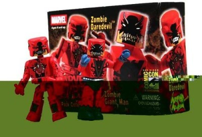 Marvel Minimates Sdcc Exclusive Zombies Giant Man & Daredevil 2Pack