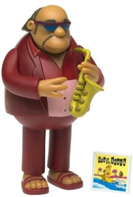 The Simpsons Series 6 Action Figure Bleeding Gums Murphy