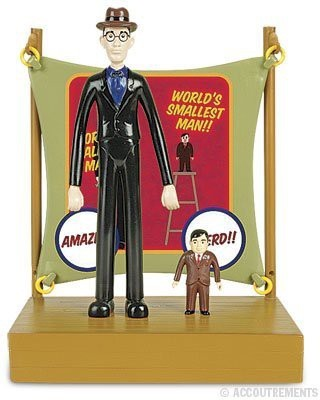 Accoutrements Li,L Sideshow World,S Tallest Man And World,S Smallest Man