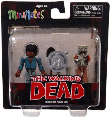 Diamond Walking Dead Minimates Morgan And Zombie Mike