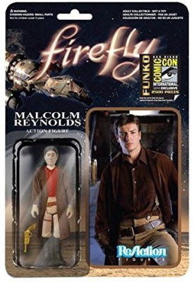 Reaction Figures Firefly Browncoat Malcolm Reynolds Re 3 3/4 Retro Figrue