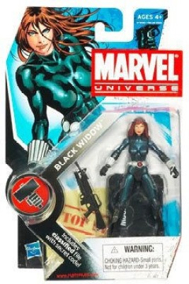 Hasbro Marvel Universe 3 3/4 Inch Series 7 Action Figure Black Widow