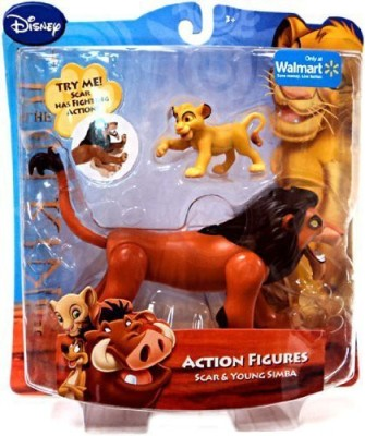 Just Play Disney Lion King Exclusive Scar Young Simba