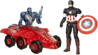 Hasbro Marvel Avengers Age Of Ultron Captain America Vs. Sub-Ultron 002 Figure Pack