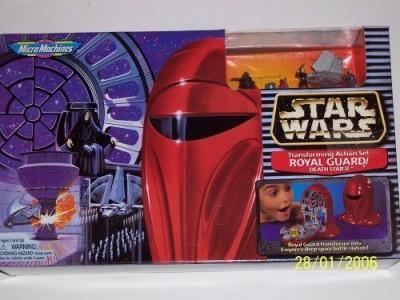 Micro Michines Star Wars Micro Machines Royal Guard Transforming Set