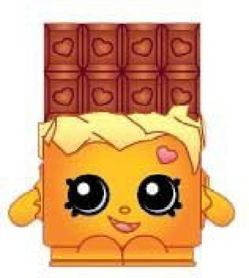 Shopkins 2014Shopping Bag Cheeky Chocolate 050 Season 1 Rare