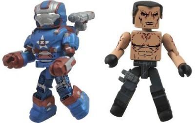 Diamond Select S Series 49 Marvel Minimates Iron Man 3 Iron Patriot