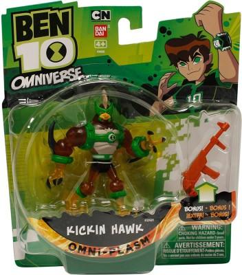 Ben 10 Fusion Kickin Hawk With Accessory
