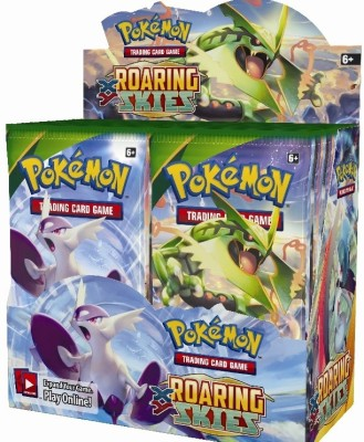 Switch Control Pokemon Roaring Skies Booster Box