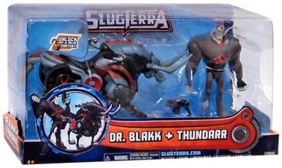 MISSING Slugterra 4Inch Human With Mecha Beast Dr Blakk & Thundarr